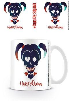 Caneca Suicide Squad - Harley Quinn Skull