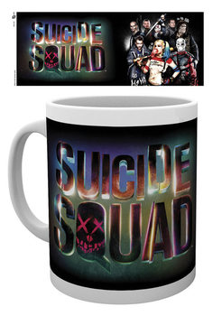 Caneca Suicide Squad - Logo