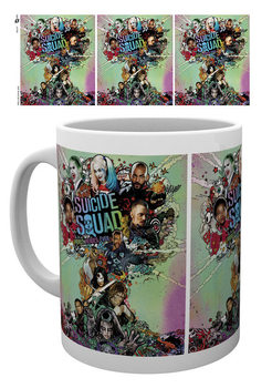 Caneca Suicide Squad - One Sheet