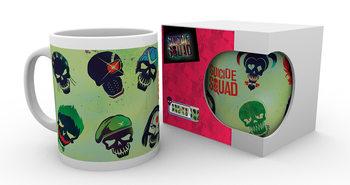 Caneca Suicide Squad - Skulls