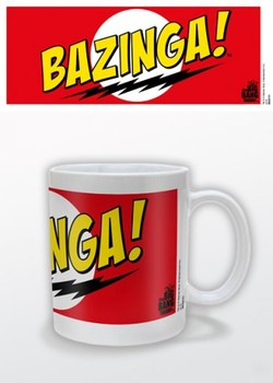 Caneca The Big Bang Theory - Bazinga Red