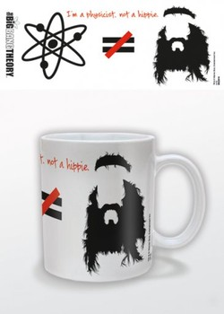 Caneca The Big Bang Theory - Hippie
