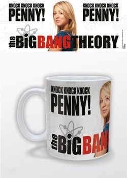 Caneca The Big Bang Theory - Knock