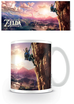 Caneca The Legend Of Zelda: Breath Of The Wild - The Climb