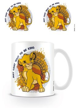 Caneca The Lion King - Just Can't Wait to Be King