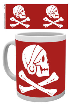 Caneca Uncharted 4: A Thief's End - Red Skull