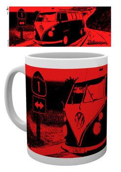 Caneca VW Camper - California Red