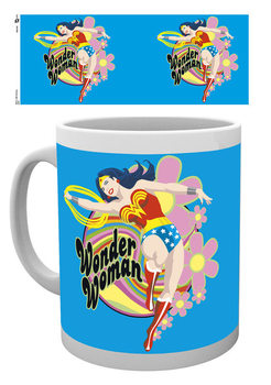 Caneca Wonder Woman - Flowers