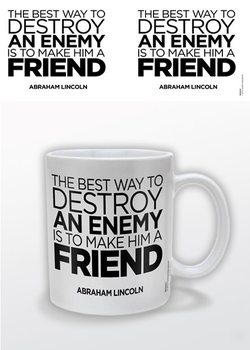 Caneca Abraham Lincoln – A Friend
