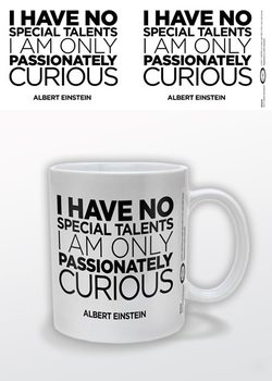 Caneca Albert Einstein - Only Curious