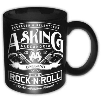 Caneca  Asking Alexandria - Rock N Roll