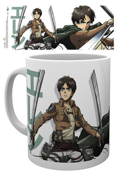 Caneca Attack On Titan - Eren Duo