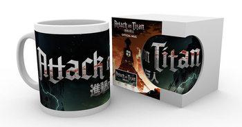 Caneca  Attack On Titan – Logo