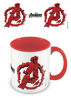 Caneca  Avengers: Endgame - Shattered Logo
