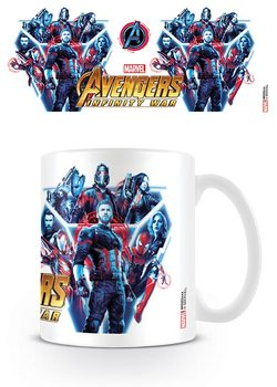 Caneca  Avengers Infinity War - Heroes United