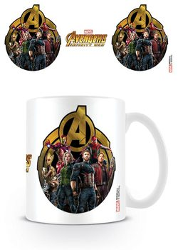 Caneca  Avengers Infinity War - Icon Of Heroes