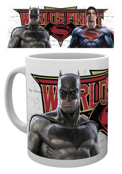 Caneca Batman v Superman: Dawn of Justice - Worlds Finest