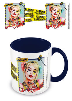 Caneca Birds Of Prey: And the Fantabulous Emancipation Of One Harley Quinn - Harley Quinn Warning