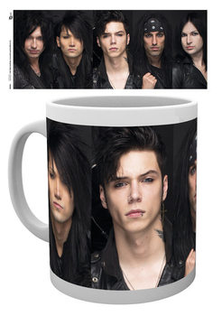 Caneca Black Veil Brides - Faces
