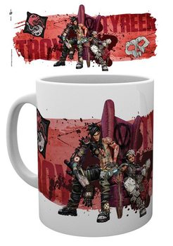 Caneca  Borderlands 3 - Troy and Tyreen