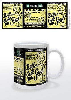 Caneca  Breaking Bad - Better call Saul