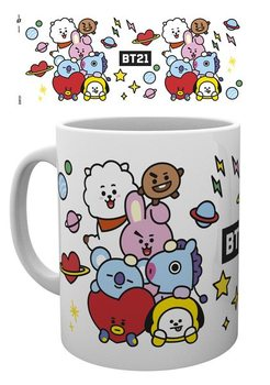Caneca  BT21 - Characters Stack