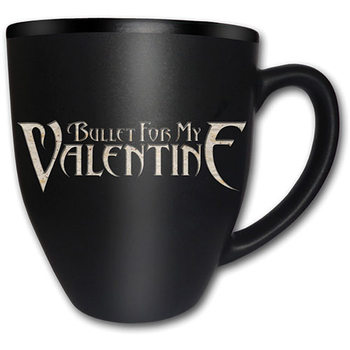 Caneca  Bullet For My Valentine – Logo Matt Engraved