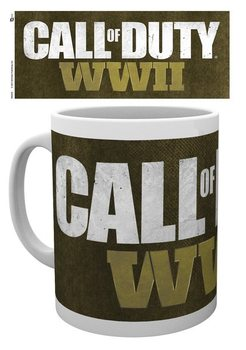 Caneca  Call Of Duty WWII - Logo