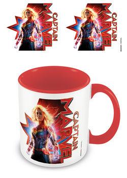 Caneca  Captain Marvel - Earths Defender