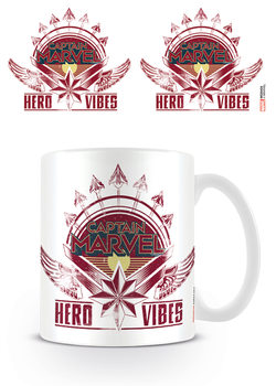 Caneca  Captain Marvel - Hero Vibes