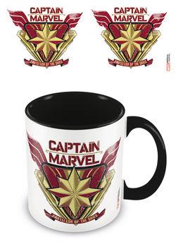 Caneca  Captain Marvel - Protector