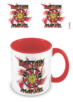 Caneca  Captain Marvel - Rock
