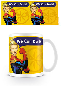 Caneca  Captain Marvel - We Can Do It