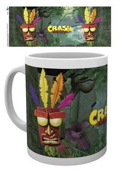 Caneca Crash Bandicoot - Aku Aku
