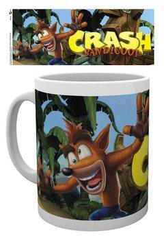 Caneca Crash Bandicoot - Logo