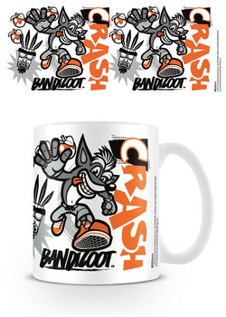 Caneca  Crash Bandicoot - Stencil