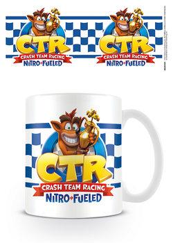 Caneca  Crash Team Racing - Checkered Flag