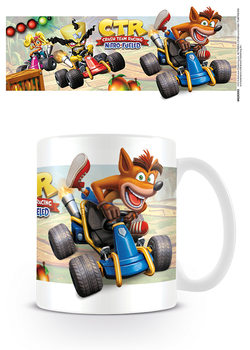 Caneca Crash Team Racing - Fight for First Place
