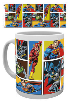 Caneca  DC Comics - Justice League Grid