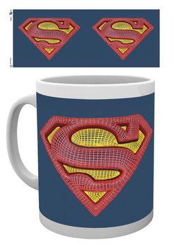 Caneca DC Comics - Superman Mesh Logo