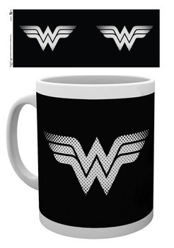 Caneca DC Comics - Wonder Woman monotone logo