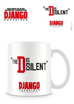 Caneca Django Unchained - The D is Silent