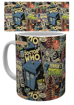 Caneca Doctor Who - Comic Books