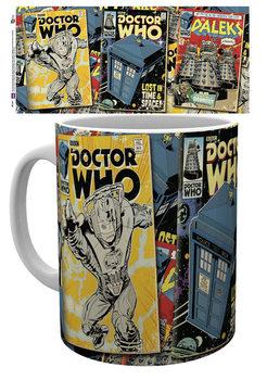 Caneca  Doctor Who - Comics