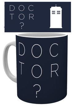 Caneca  Doctor Who - Doctor Who Type