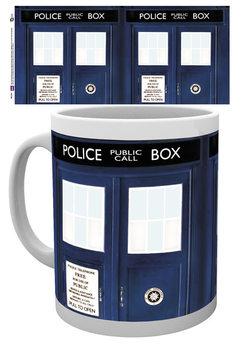 Caneca Doctor Who - Tardis
