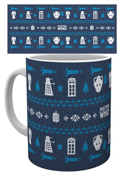 Caneca  Doctor Who - Ugly Sweater