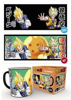 Caneca Dragon Ball Z - Saiyans