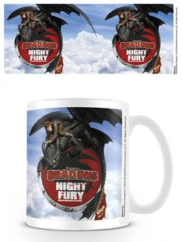 Caneca  Dragons - Night Fury