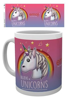 Caneca Emoji - Believe in Unicorns